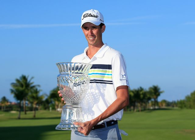 Chesson Hadley notched his first win on the PGA Tour