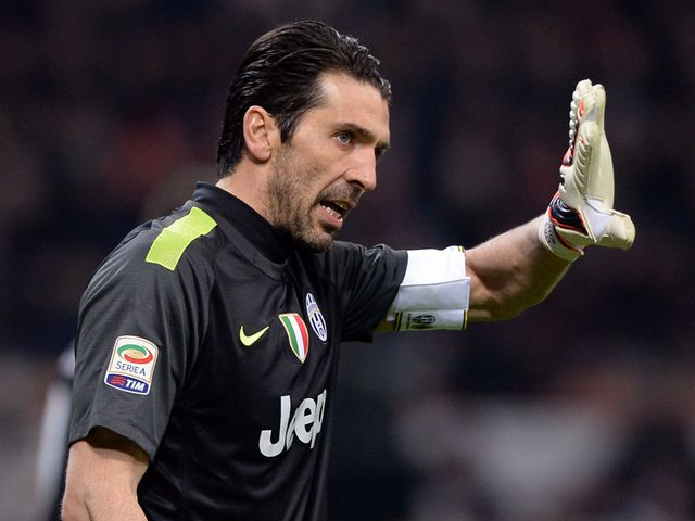 Gianluigi Buffon: Praised his manager and Juve forwards