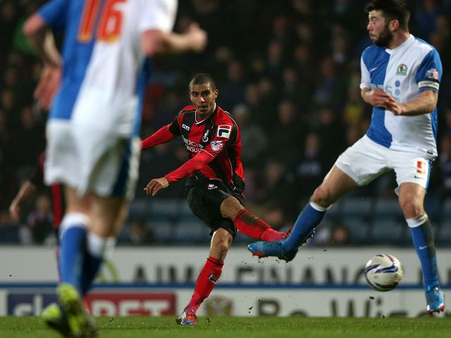 Lewis Grabban: Scored twice for the Cherries