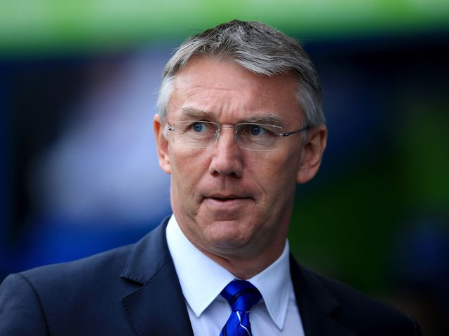 Nigel Adkins: Still eyeing a play-off spot