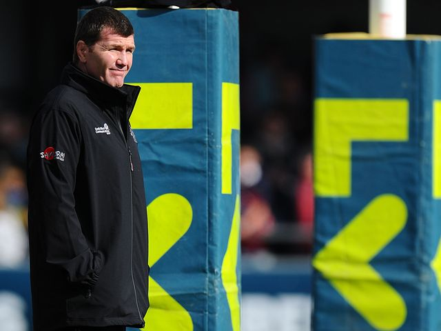 Rob Baxter: Praised Exeter players