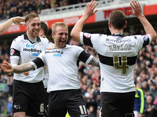 Johnny Russell: Gave Derby the lead