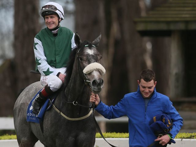 Pat Smullen rode Fascinating Rock