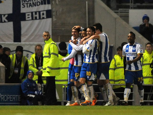 Brighton swept aside Charlton