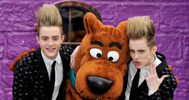 Scooby, Scooby Doo, where are you? I'm on Raw - without Jedward