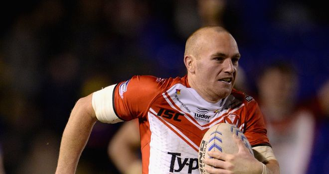 Luke Walsh: Will miss Saints' upcoming clash against Leeds with a calf strain