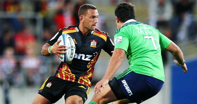 Aaron Cruden (left): Out for six to eight weeks