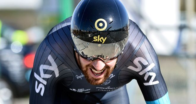 Bradley Wiggins is happy helping out in Italy