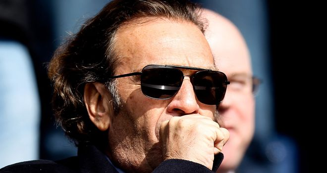 Massimo Cellino: Looking for a British coach to replace Brian McDermott