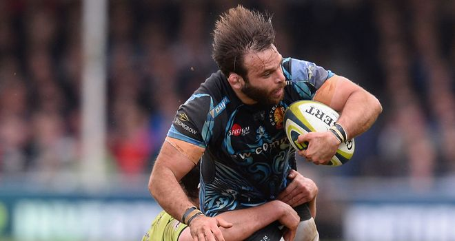 Chris Whitehead: helped Exeter to LV= Cup glory