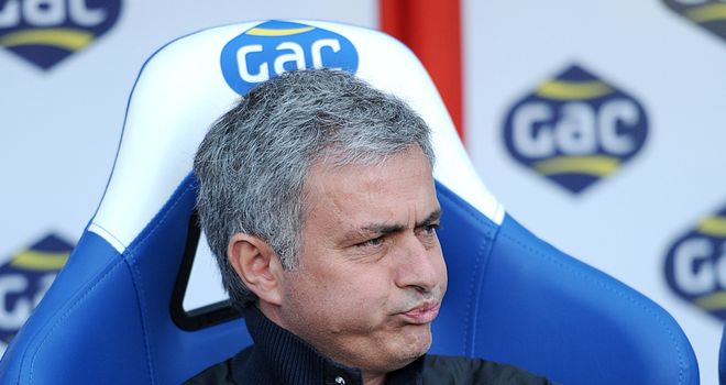 Jose Mourinho: Not best pleased with recent results