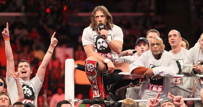 Daniel Bryan left his fans happy on Sunday night