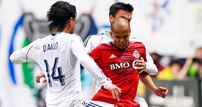 Robert Earnshaw: Wales striker has returned from a spell with Toronto FC