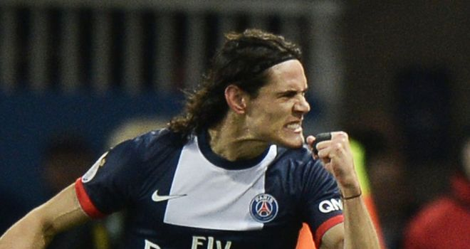 Edinson Cavani: Came off the bench to score