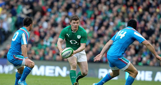 Brian O'Driscoll: An emotional send-off from his home crowd