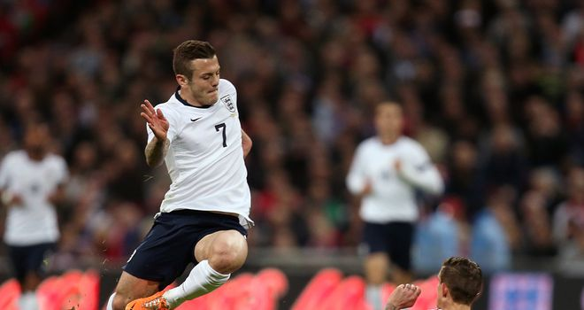 Jack Wilshere: Injured after tackle by Daniel Agger