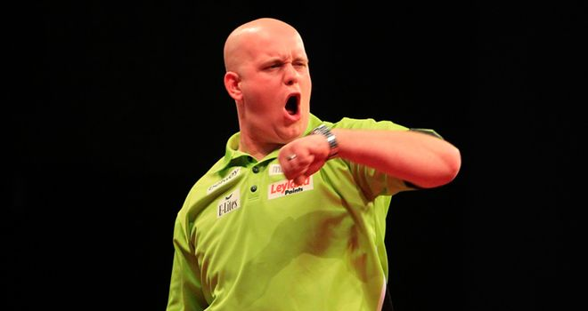 Michael van Gerwen: Bidding for his first World Matchplay title