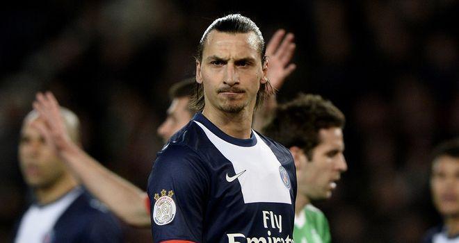 Zlatan Ibrahimovic scored a brave for PSG