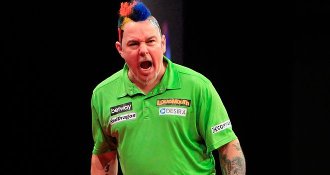 Peter Wright: Faces Barney showdown in Sheffield
