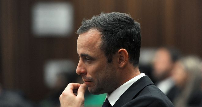 Oscar Pistorius: accused of murdering Reeva Steenkamp
