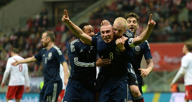 Scott Brown: Hit the long-range winner in Warsaw