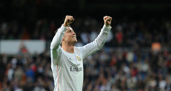 Cristiano Ronaldo: Amongst the goals again as Real won