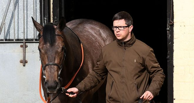 Roger Varian with Kingston Hill