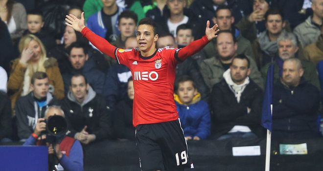 Rodrigo Moreno: Scored both Benfica goals against AZ Alkmaar