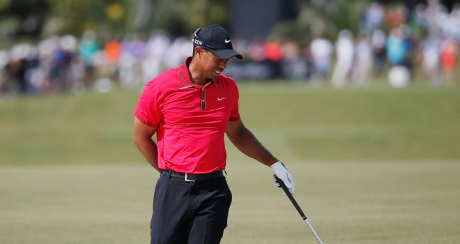 Tiger Woods: Back still causing world No 1 trouble