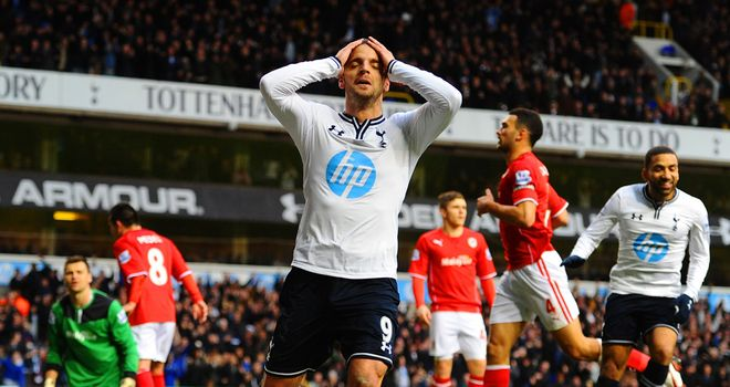 Roberto Soldado scored his first league goal from open play at the Lane but was otherwise disappointing
