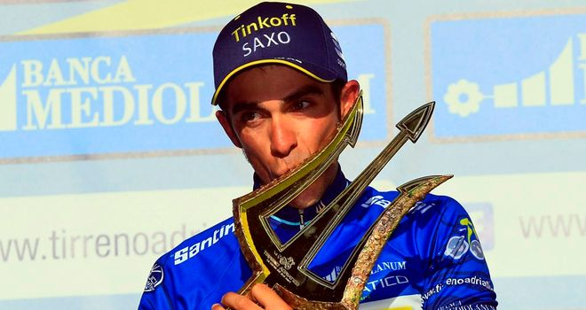 Alberto Contador wins the 2014 Tirreno-Adriatico