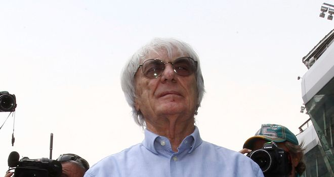 Bernie Ecclestone: Says two new teams are joining F1