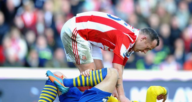 Charlie Adam: Consoles Olivier Giroud following the incident