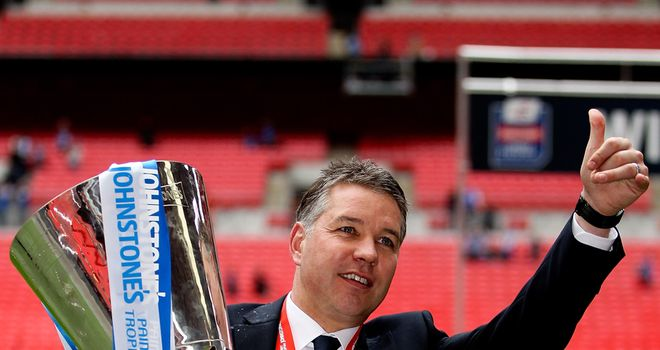 Darren Ferguson: Delighted to win in front of his family