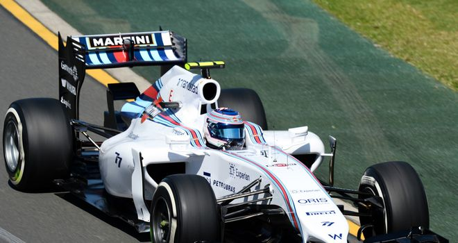 Valtteri Bottas: Eighth fastest on Friday
