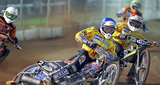 Jason Doyle: Scored maximum for Leicester (Picture credit Jeff Davies)