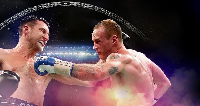 Carl Froch's rematch with George Groves will be staged at Wembley