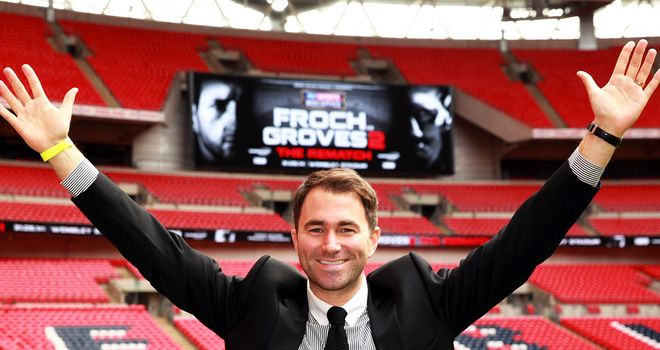 Eddie Hearn is thrilled Wembley will host Froch-Groves II