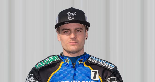 Lewis Kerr: Top-scored for King's Lynn (Picture credit King's Lynn Speedway)
