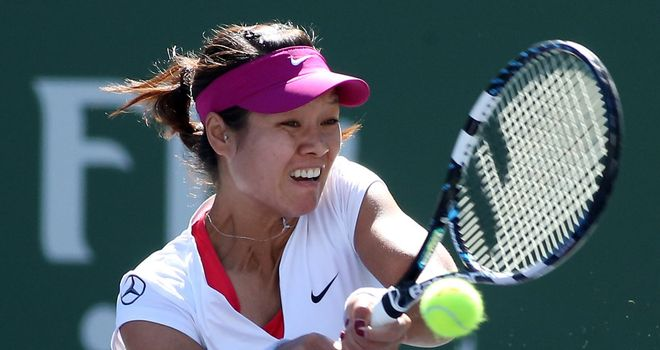 Li Na: Booked a fourth round date with Alexsandra Wozniak