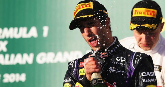 Daniel Ricciardo: Expecting more champagne moments soon