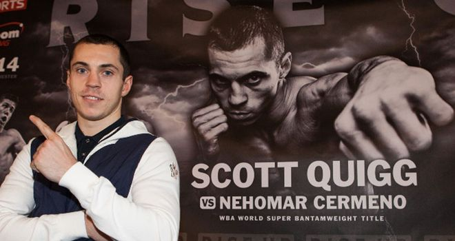 Scott Quigg: Enjoying the limelight in Manchester