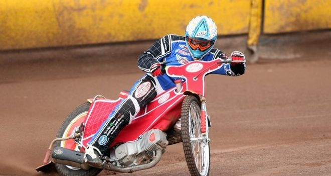 Vaclav Milik: Great debut for Poole Pirates (Picture credit Speedwayprint)