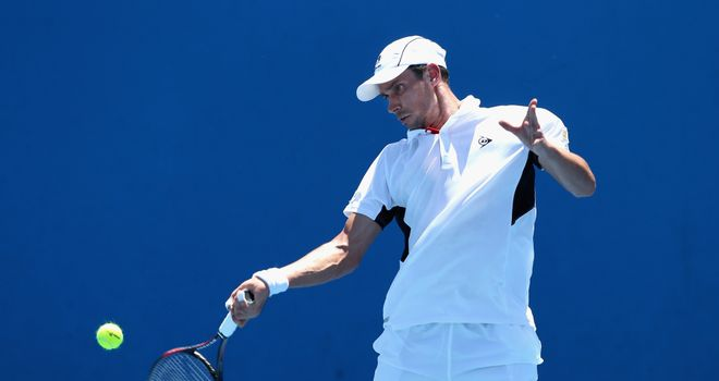 Victor Hanescu: Ousted top seed Kevin Anderson