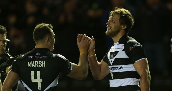 Stefan Marsh (L): Scored one of Widnes Vikings' 10 tries