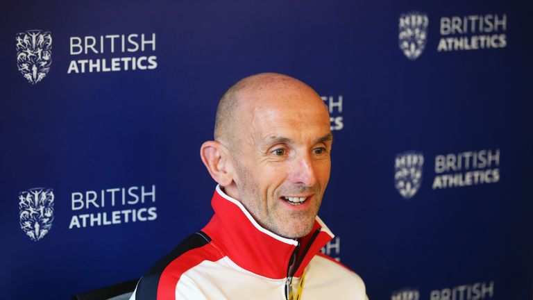 British Athletics Performance Director Neil Black