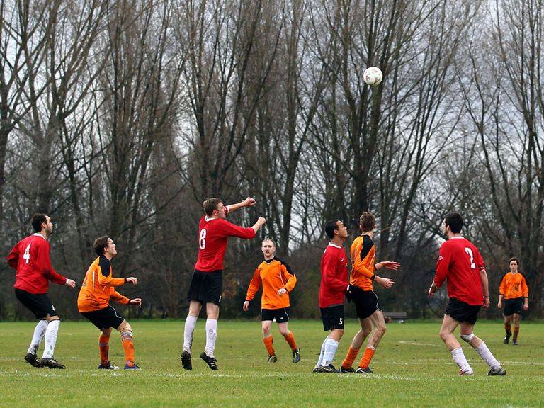 Grassroots football: Hit by £1.6m in funding cuts