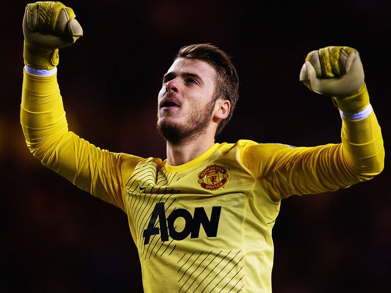 David de Gea: Looking for Manchester United to finish the season strongly