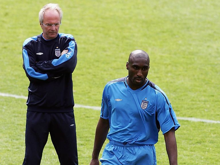 Sven-Goran Eriksson rejects Sol Campbell's claim