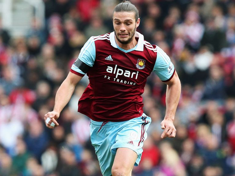Andy Carroll: West Ham head to Sunderland for the Monday Night Football